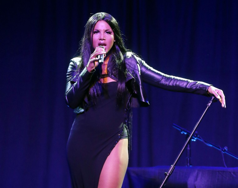 WEST HOLLYWOOD, CA - OCTOBER 22:  Recording artist Toni Braxton performs during The Paley Center for Media's Annual Los Angeles Benefit at The Rooftop Of The Lot on October 22, 2012 in West Hollywood, California.  (Photo by Frederick M. Brown/Getty Images)